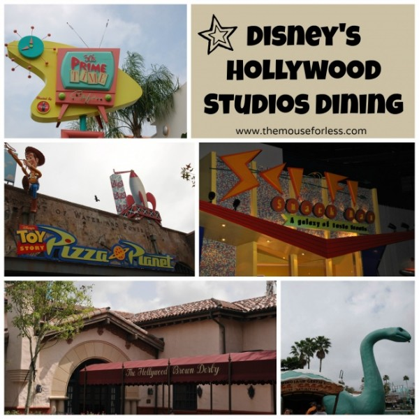 Disney Hollywood Studios dining