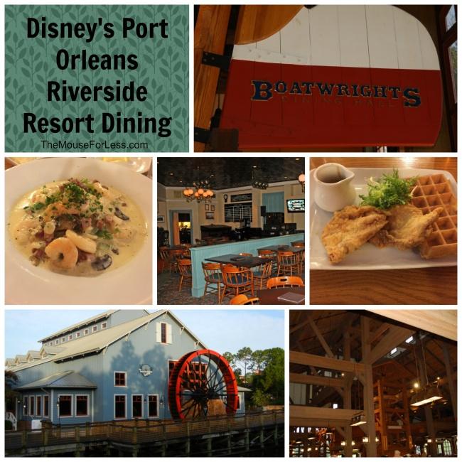 Disney's Port Orleans Riverside Dining