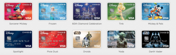 Disney Visa Card Designs