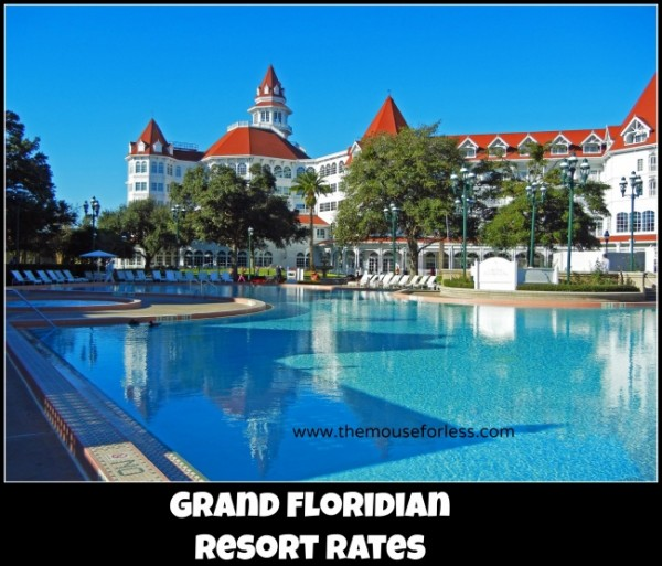 Grand Floridian Resort Rates