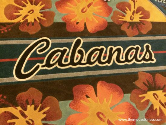 Disney Magic Cabanas #DCL