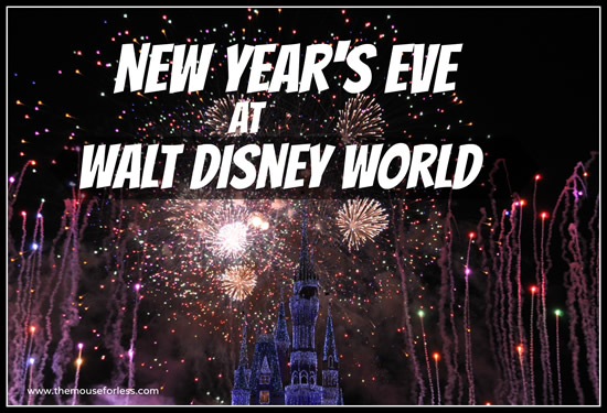Magic Kingdom New Years Eve