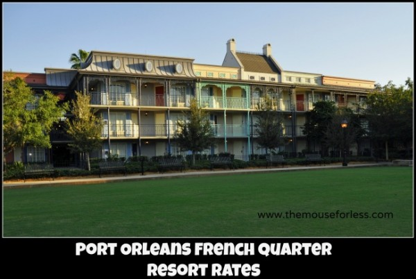 Port Orleans French Quarter Resort Rates