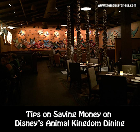 saving money on disneys animal kingdom