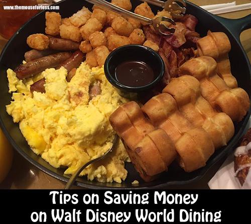 Saving Money on Walt Disney World Restaurants