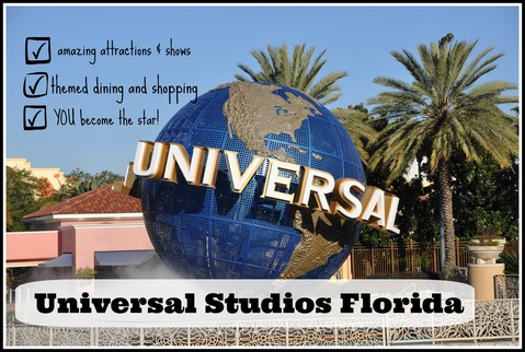 Universal Studios Florida Theme Park at Universal Orlando Resort