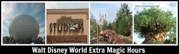 Walt Disney World Extra Magic Hours Information