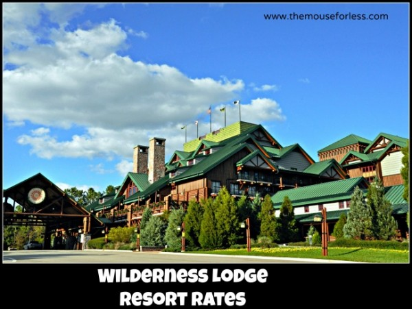 Wilderness Lodge Rates