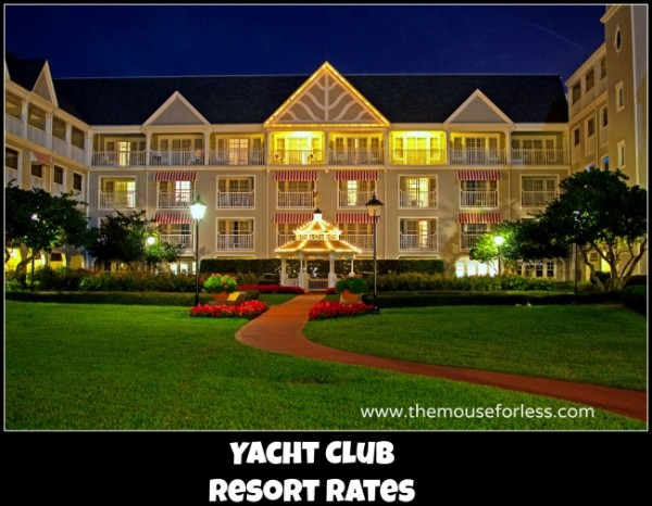 Yacht Club Resort Rates