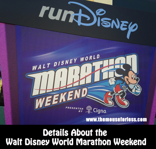All About the Walt Disney World Marathon Weekend