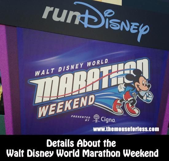 All About the Walt Disney World Marathon Weekend