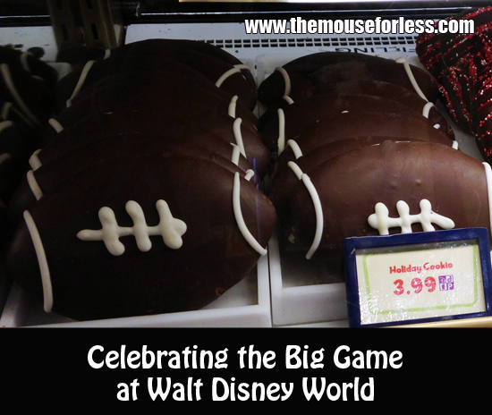 Celebrating The Big Game Super Bowl at Walt Disney World
