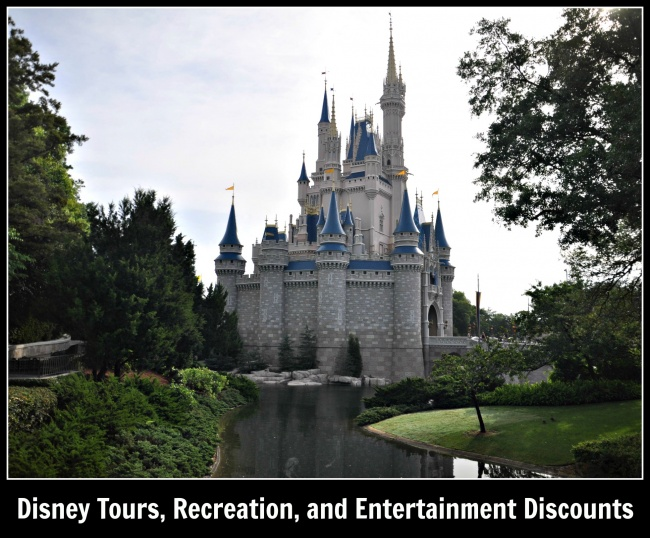 Disney Tours, Recreations and Entertainment Discounts