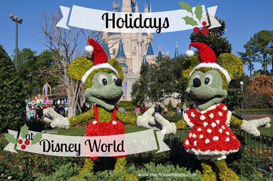 Christmas Holiday Activities Events at Walt Disney World