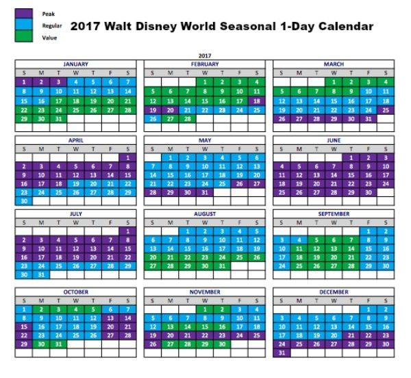 MYW 1-Day Seasonal Calendar