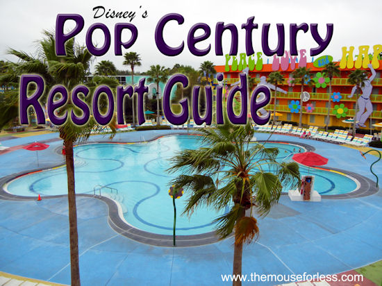 Disney's Pop Century Resort Guide from themouseforless.com #DisneyWorld #Vacation