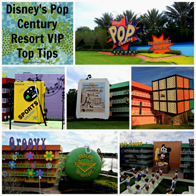 Disney's Pop Century Resort VIP Top Tips