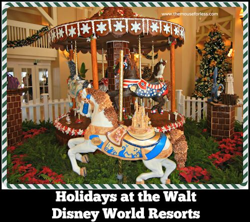 Holidays at the Walt Disney World Resort Hotels
