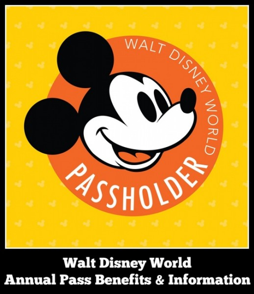 Walt disney World Annual pass benefits and information