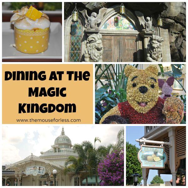 Dining at Walt Disney World's Magic Kingdom #WDW #MagicKingdom