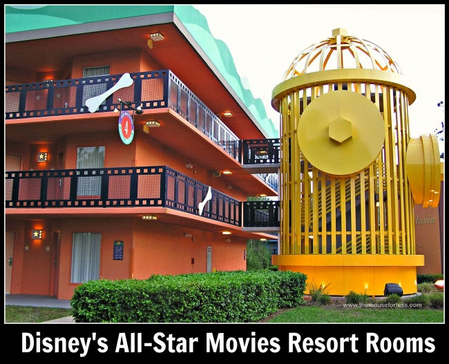 Disney's All-Star Movies Rooms