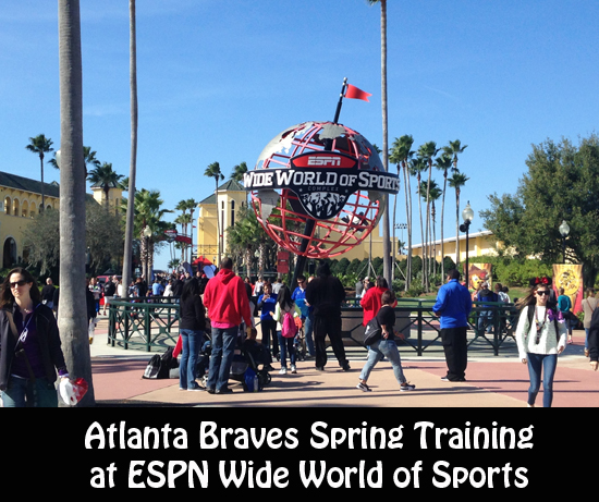 Atlanta Braves Spring Training at ESPN Wide World of Sports
