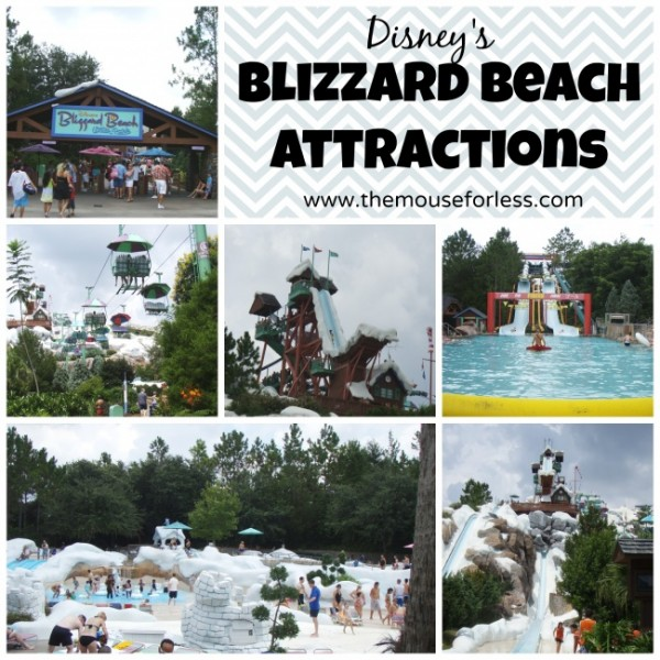 Disneys Blizzard Beach Attractions