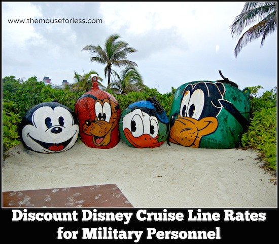 Disney Cruise Line Military Rates #DisneyCruise #SaveMoney #Travel #Military