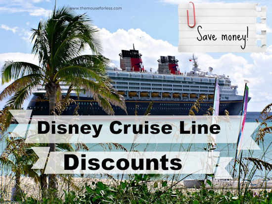 Disney Cruise Line Current Discount and Special Offers #Cruise #SaveMoney #Travel