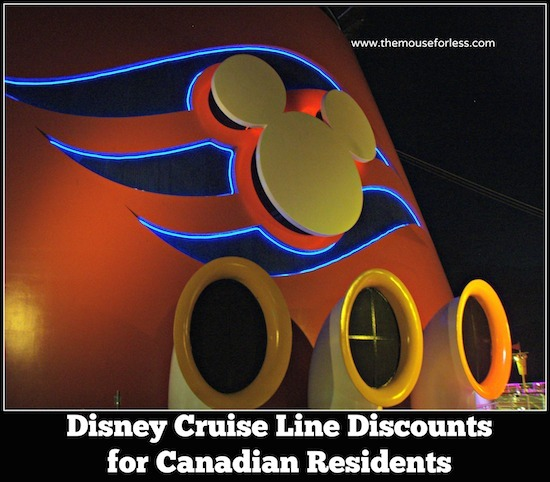 Disney Cruise Line Canadian Resident Offers #DisneyCruise #SaveMoney #Travel #CanadaResidents