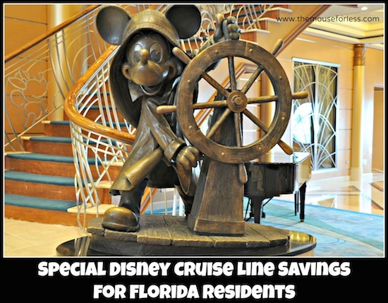 Disney Cruise Line Florida Resident Rates #DisneyCruise #SaveMoney #Travel #FLResidents