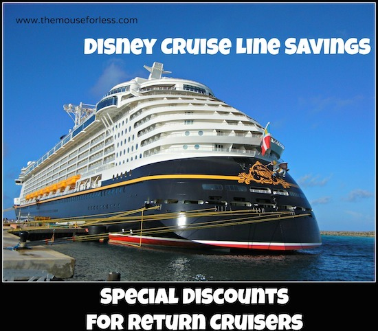 Disney Cruise Line Return Cruisers Offers #DisneyCruise #SaveMoney #Travel