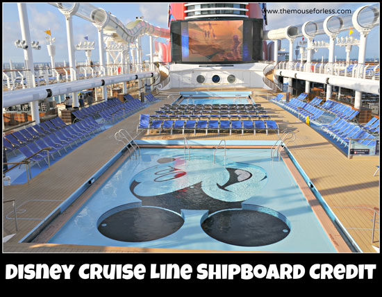 Disney Cruise Line Shipboard Credit Offers #DisneyCruise #SaveMoney #Travel