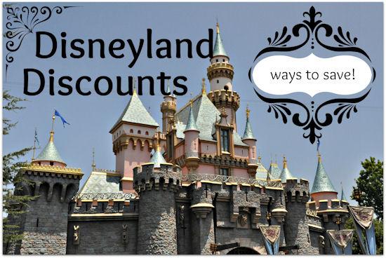 Disneyland coupons discounts