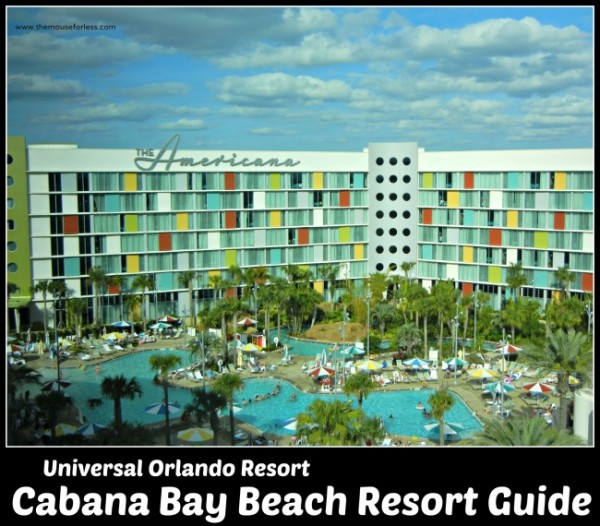 Universal Orlando Cabana Bay Beach Resort Guide