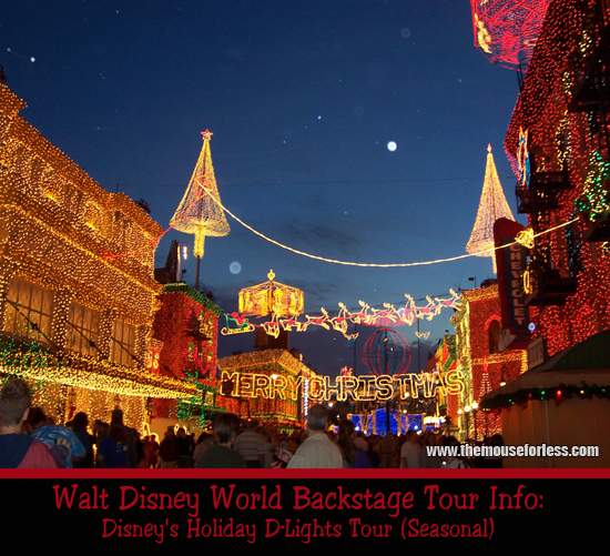Backstage Tours And Experiences • Walt Disney World