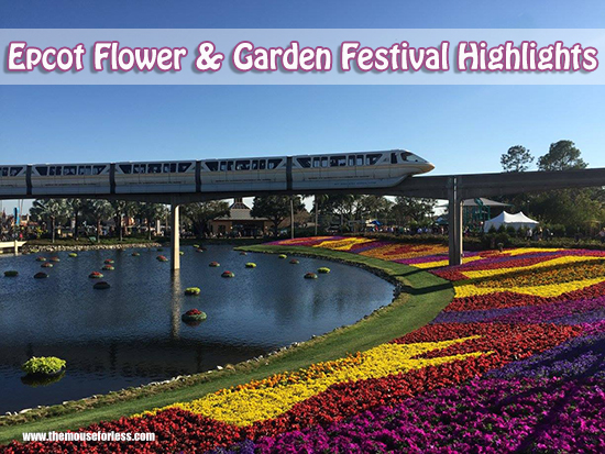 2019 Epcot Flower And Garden Festival Walt Disney World