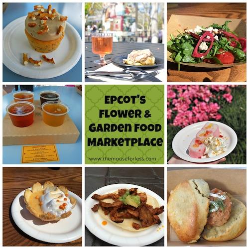 Epcot International Flower and Garden Festival Food from themouseforless.com #DisneyWorld #FlowerandGarden