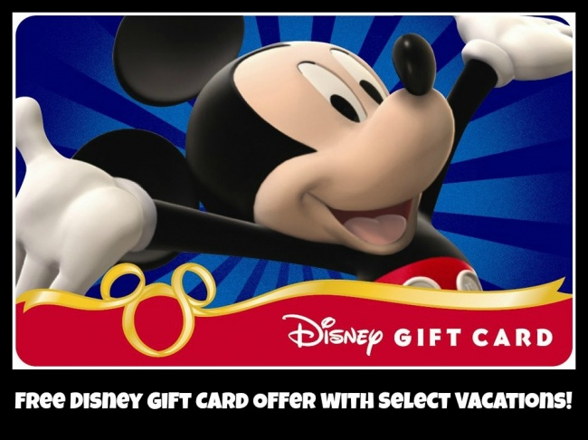 Free Disney Gift Card - Disney World Discounts