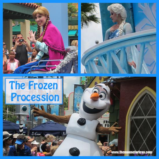 Frozen Procession