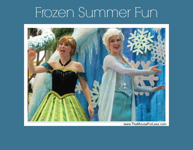Frozen Summer Fun at Disney's Hollywood Studios