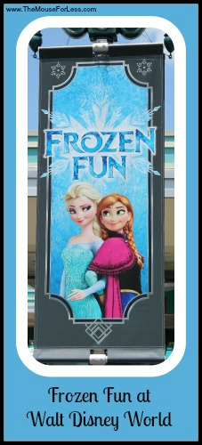 Frozen Fun at Walt Disney World
