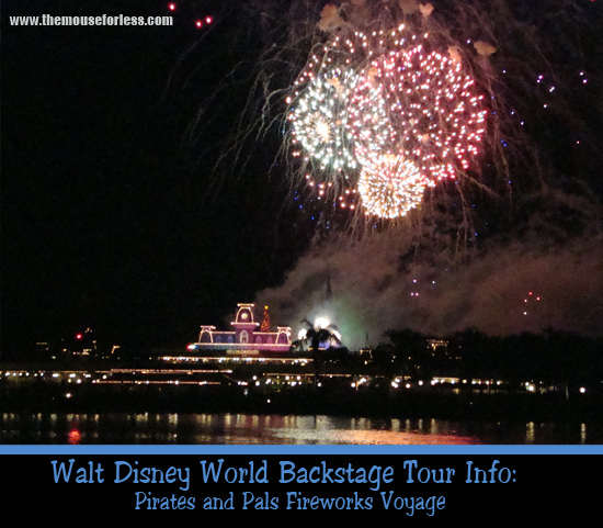 Pirates and Pals Fireworks Voyage