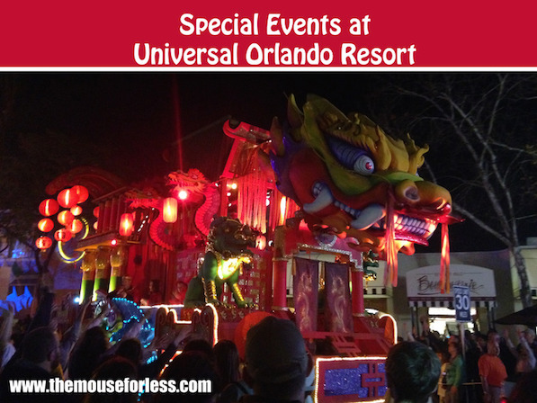 Universal Orlando Resort Annual Special Events #UOR