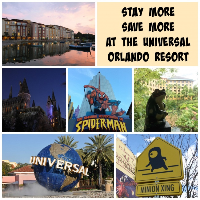 Stay More Save More discount Universal Orlando