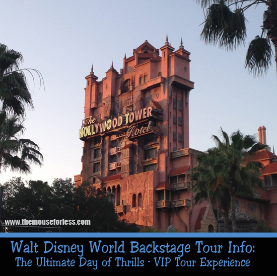 The Ultimate Day of Thrills - a VIP Tour Experience at Walt Disney World Resort