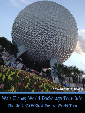 The UnDISCOVERed Future World Tour at Epcot