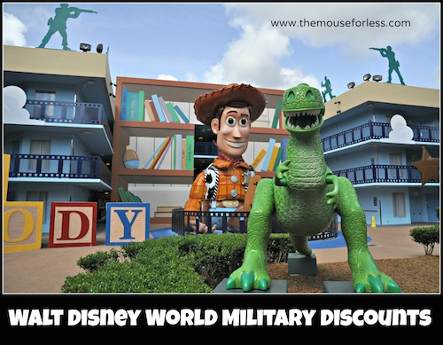 Walt Disney World Military Discounts #DisneyWorld #SaveMoney #Travel