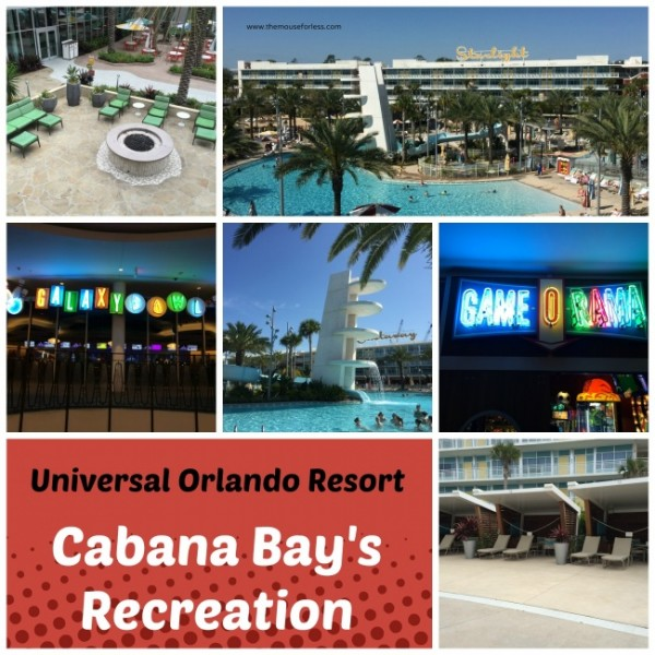 Universal Orlando cabana bay Beach Resort recreation