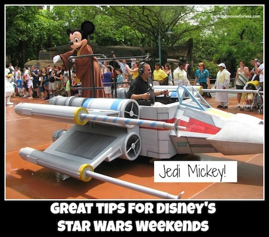 Star Wars Weekends Tips from themouseforless.com #DisneyWorld #StarWarsWeekends